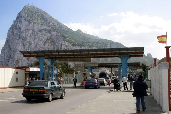 Gibraltar Border - spain