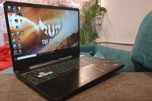ASUS TUF GAMING FX505 - gaming laptop